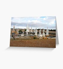 Galong Cemetry Greeting Card