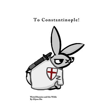 Crusader Bunny by WeirdBunnies