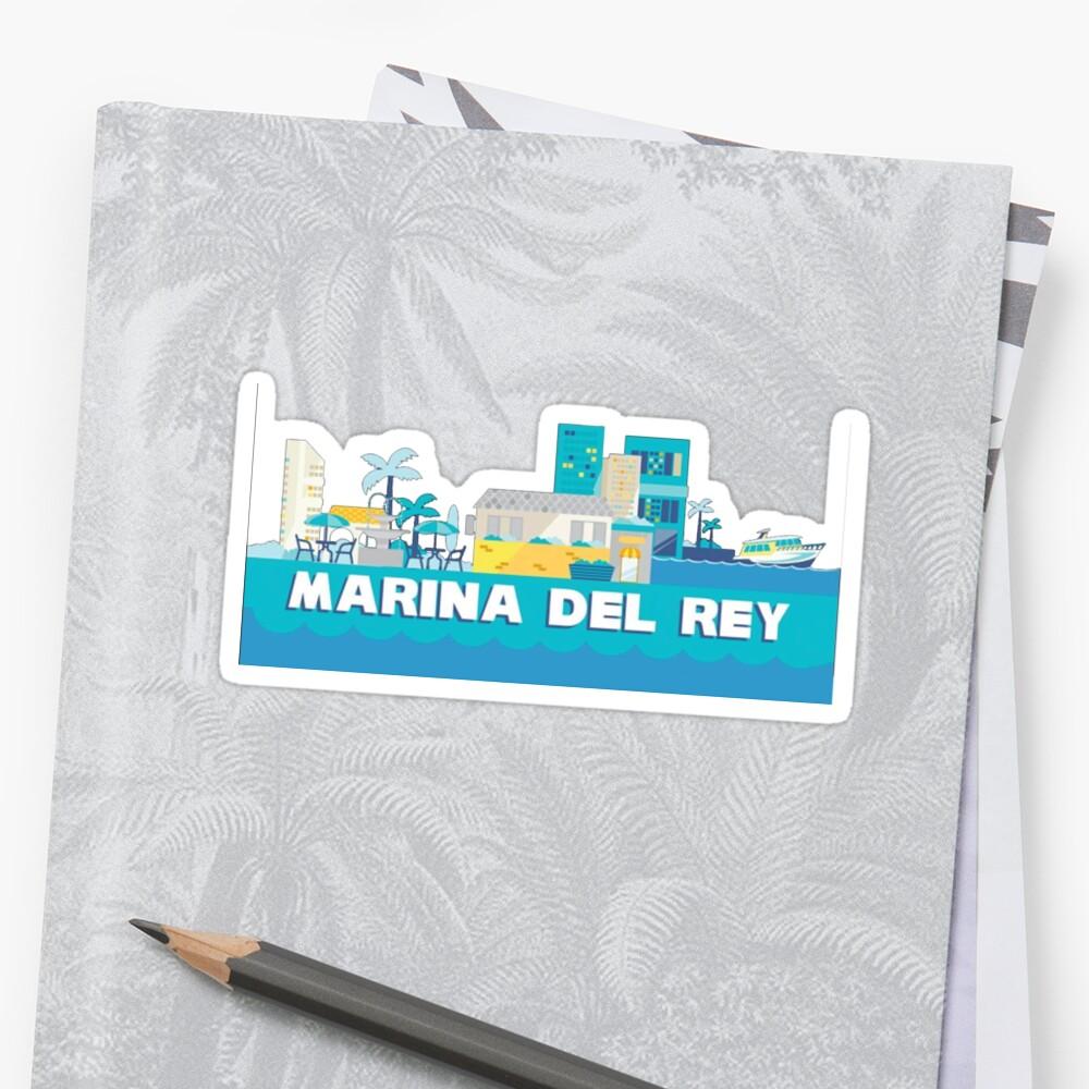 Marina Del Ray Geotag by gillstapler