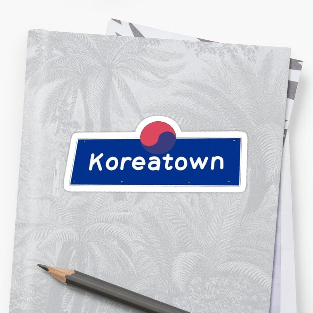 Koreatown Geotag by gillstapler