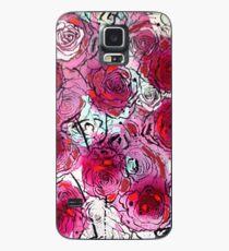 Burgundy Roses Case/Skin for Samsung Galaxy