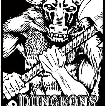 Dungeons & Dragons Minotaur by subatomic09
