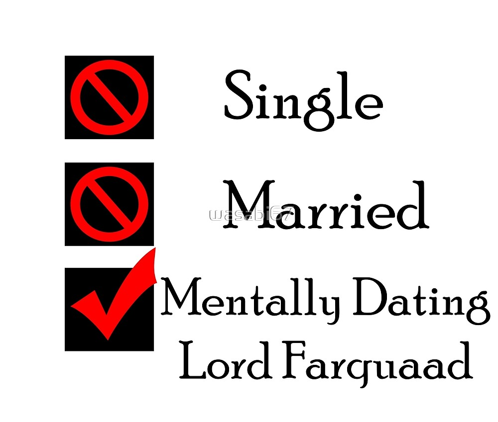 Mentally Dating Lord Farquaad by wasabi67