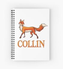 Collin Fox Spiral Notebook