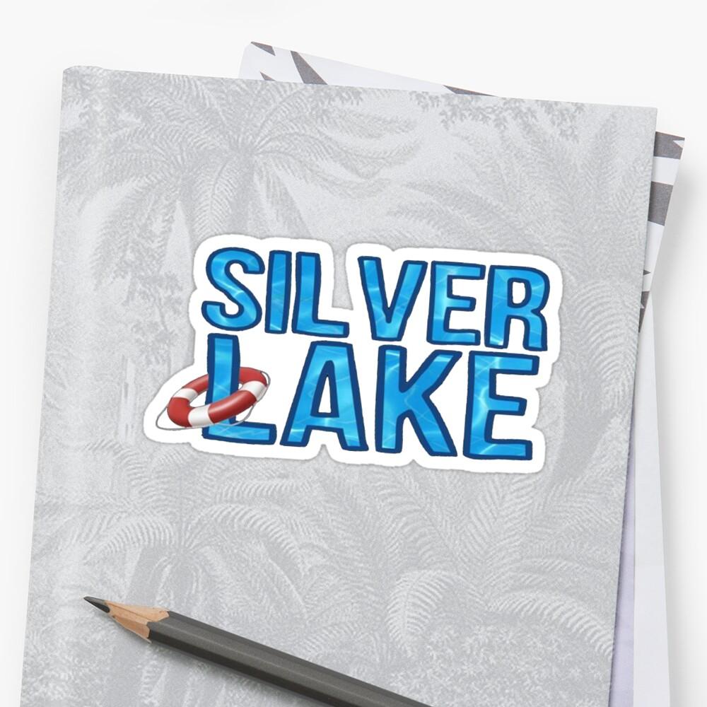 Silver Lake Geotag by gillstapler
