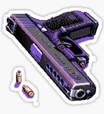 pixel gun Sticker