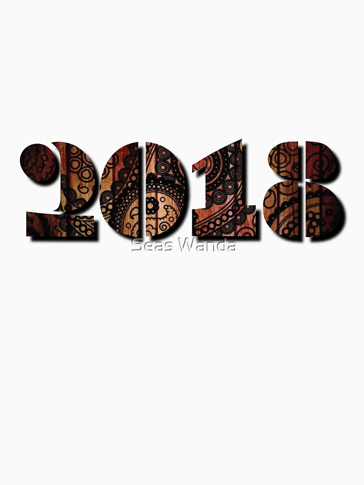 Happy New Years 2018 Vintage Men Women by macshoptee