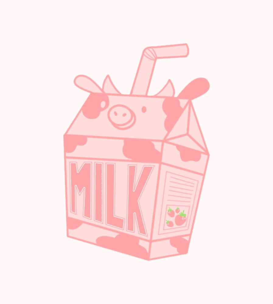 Strawberry Milk by jodiesart