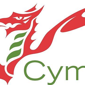 Cymru Dragon by jamesgoodchap14