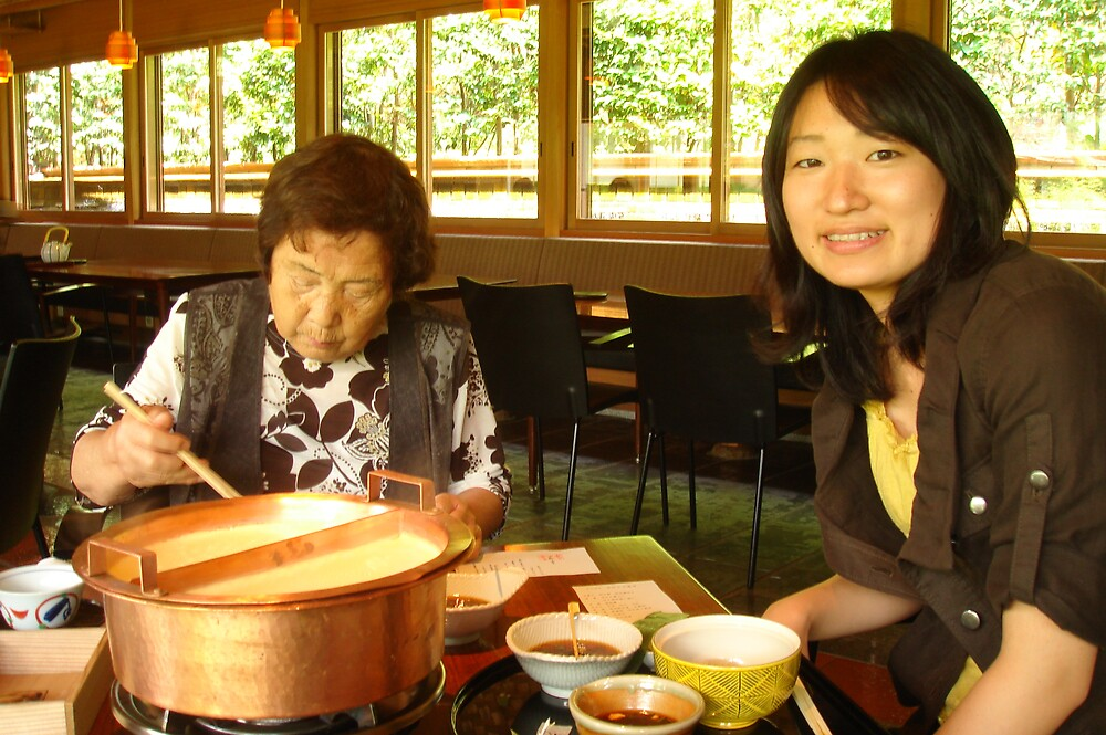 Tofu cuisine in Kyoto by yukina