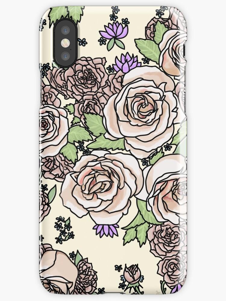 pale floral  by Jennie Clayton