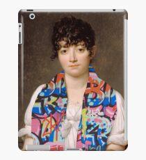 Old Modern Jacques-Louis David - Suzanna Le Peletier de Saint-Fargeau iPad Case/Skin