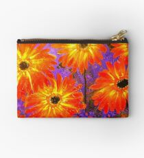 Orange Gerberas Studio Pouch
