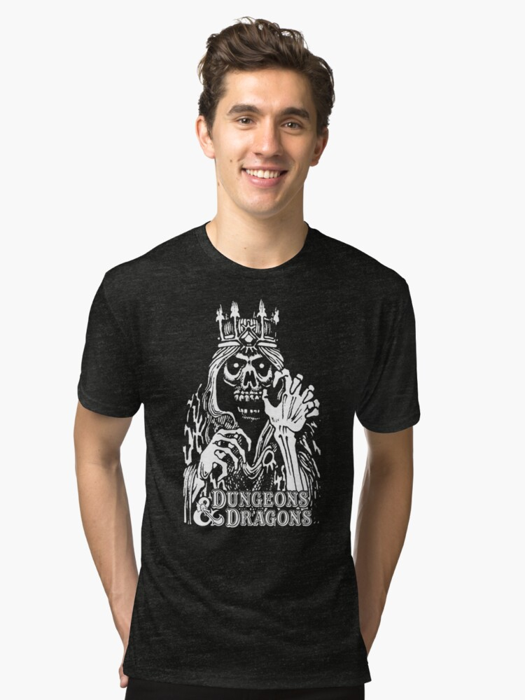 Dungeons & Dragons Lich Tri-blend T-Shirt Front
