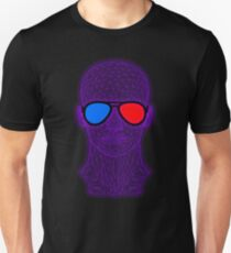 Not Real Enough - Virtual Reality - 3D Glasses Unisex T-Shirt