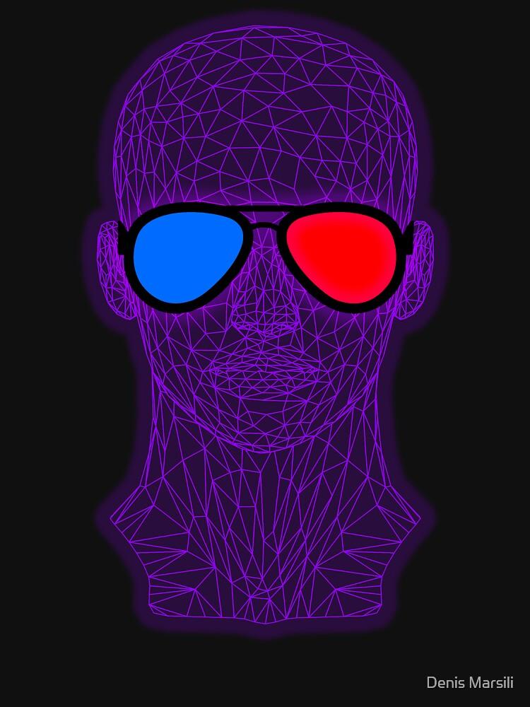Not Real Enough - Virtual Reality - 3D Glasses by ddtk