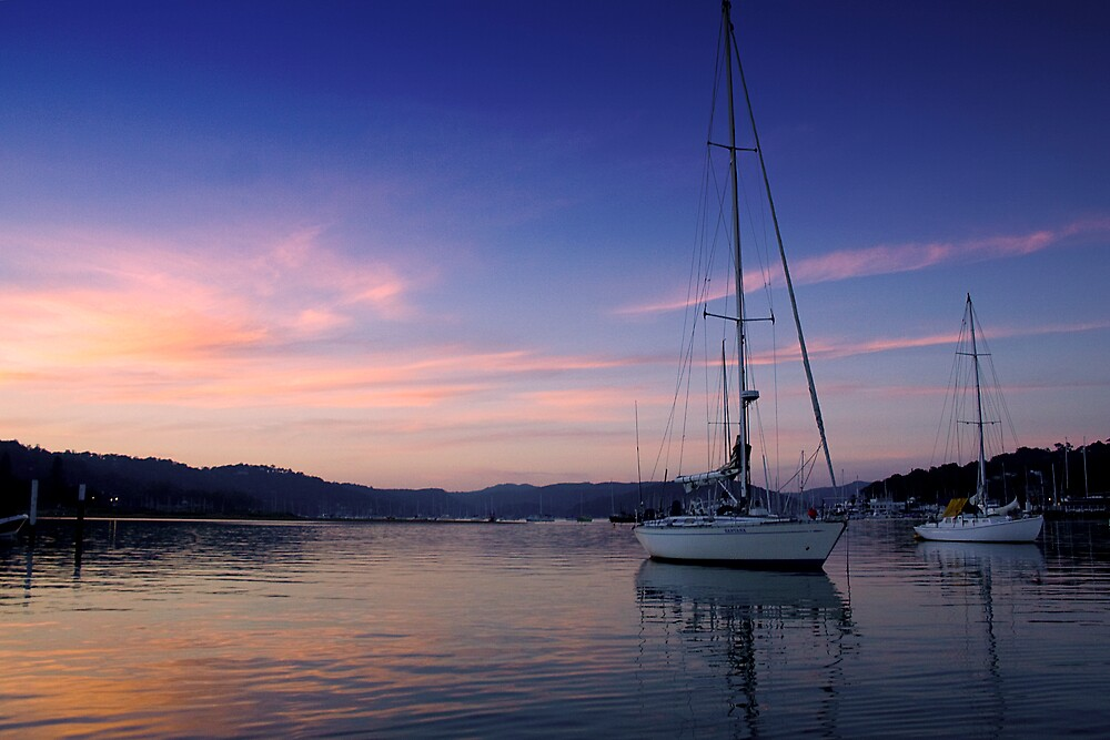 Sunset at Baysview by albyphotos