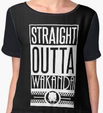 Straight Outta Wakanda Chiffon Top