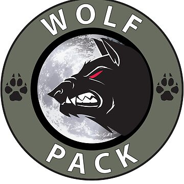 Wolf Pack Logo  by griegothegreat