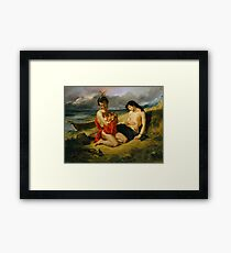 Natchers 1835 Eugene Delacroix Framed Print