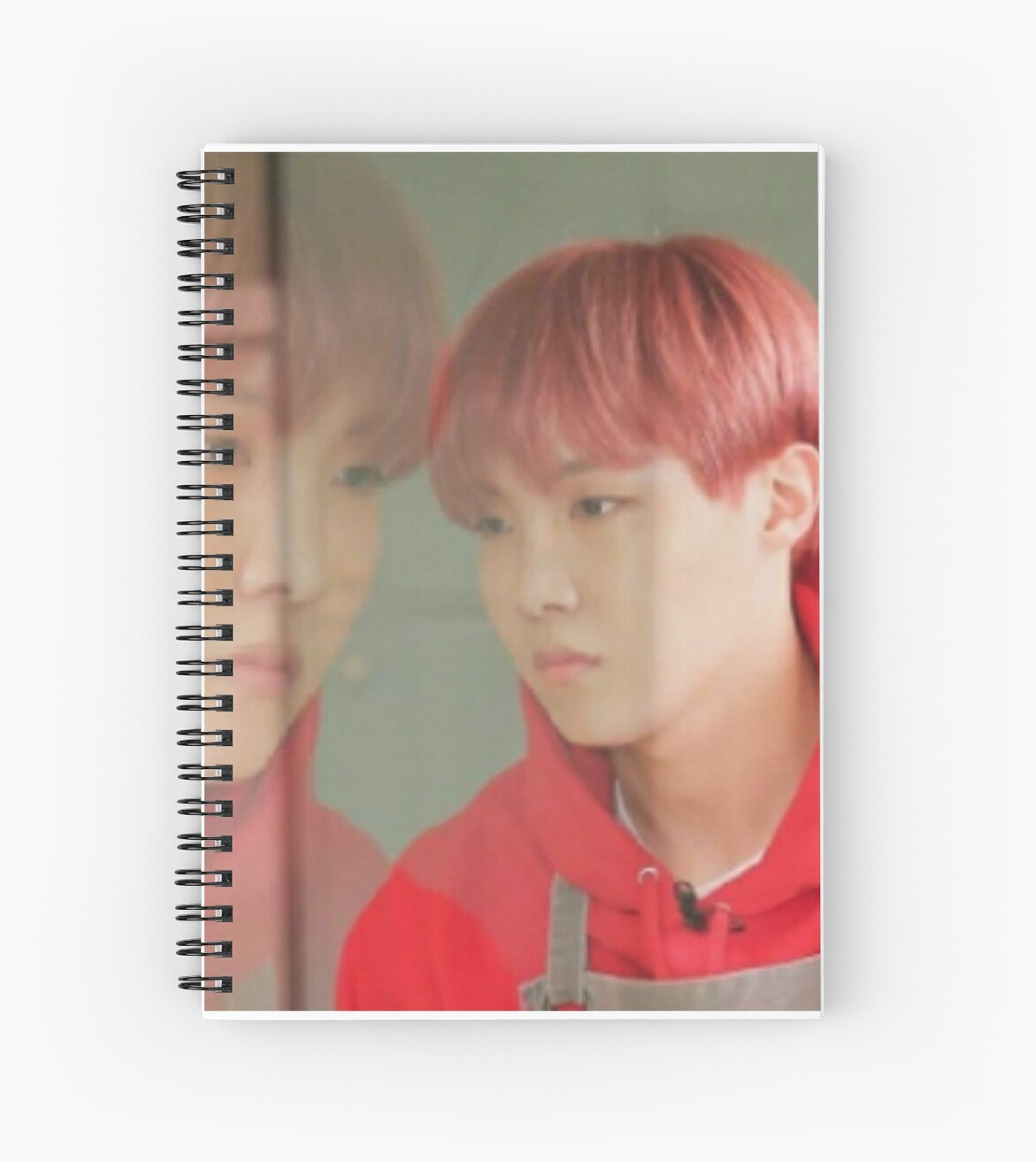 Jhope Confused Meme Spiral Notebooks By Mapao Redbubble