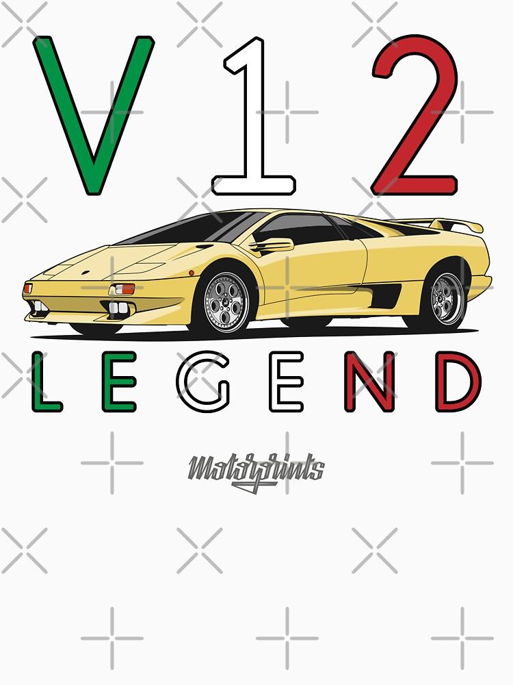 V12 Legend (yellow) by MotorPrints