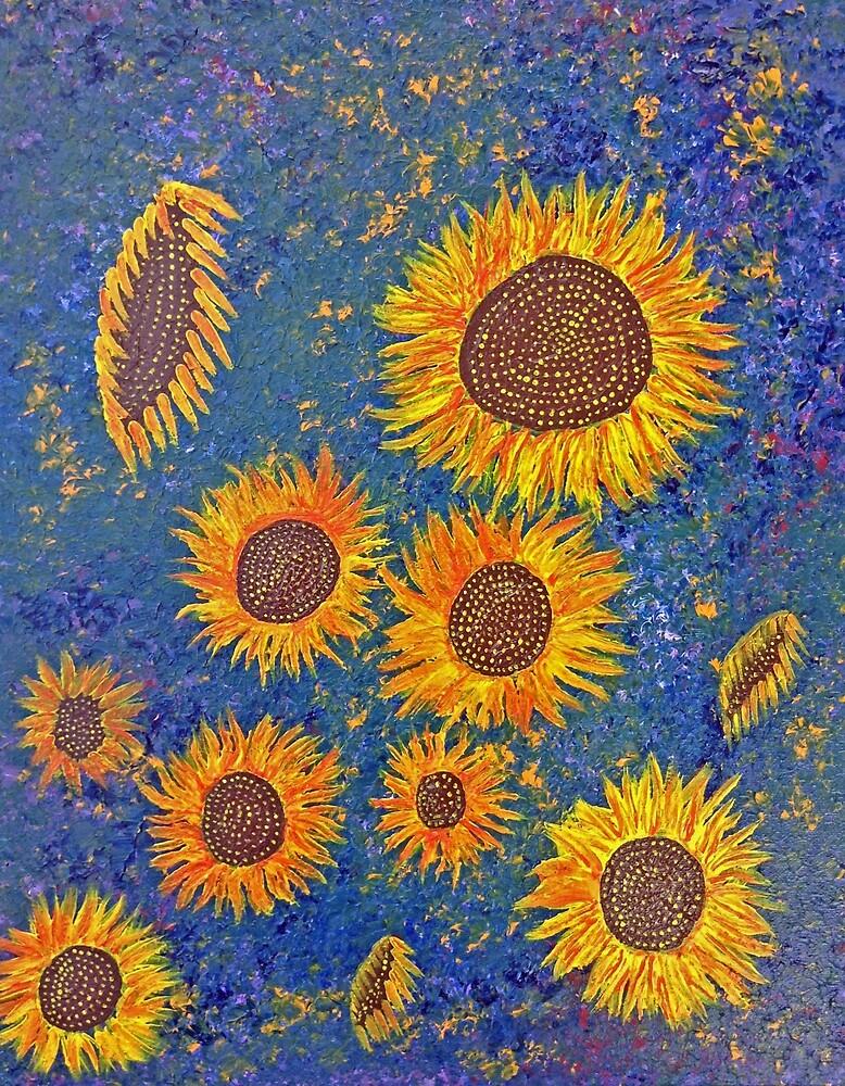 Sunflowers by Ericandamelia