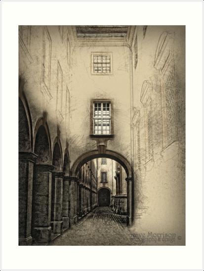 Melk Abbey Corridor by Dave Morrison