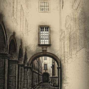 Melk Abbey Corridor by BobM