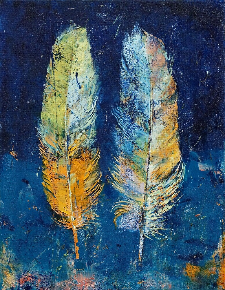 Feathers by Michael Creese