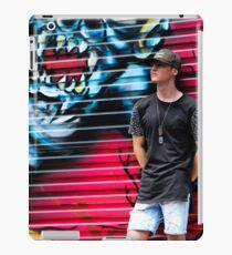Dj Earthbound Photo shoot iPad Case/Skin
