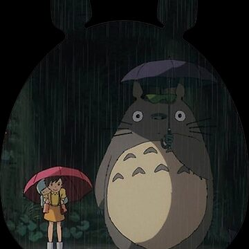 Totoro under the rain by monilo012
