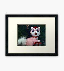 Oh Santa Baby Framed Print