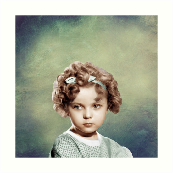 Sweet Shirley Temple by Jacquelyn Stewart