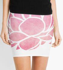 Lotus Flower  Mini Skirt