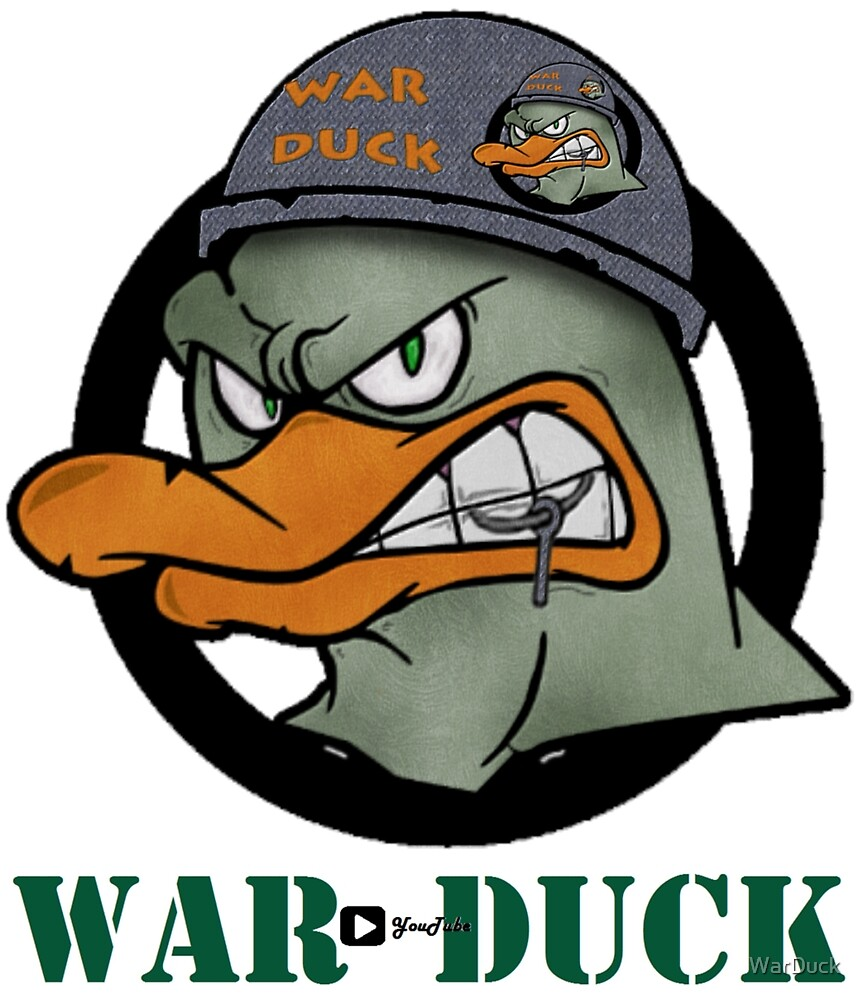 War Duck with Label by WarDuck