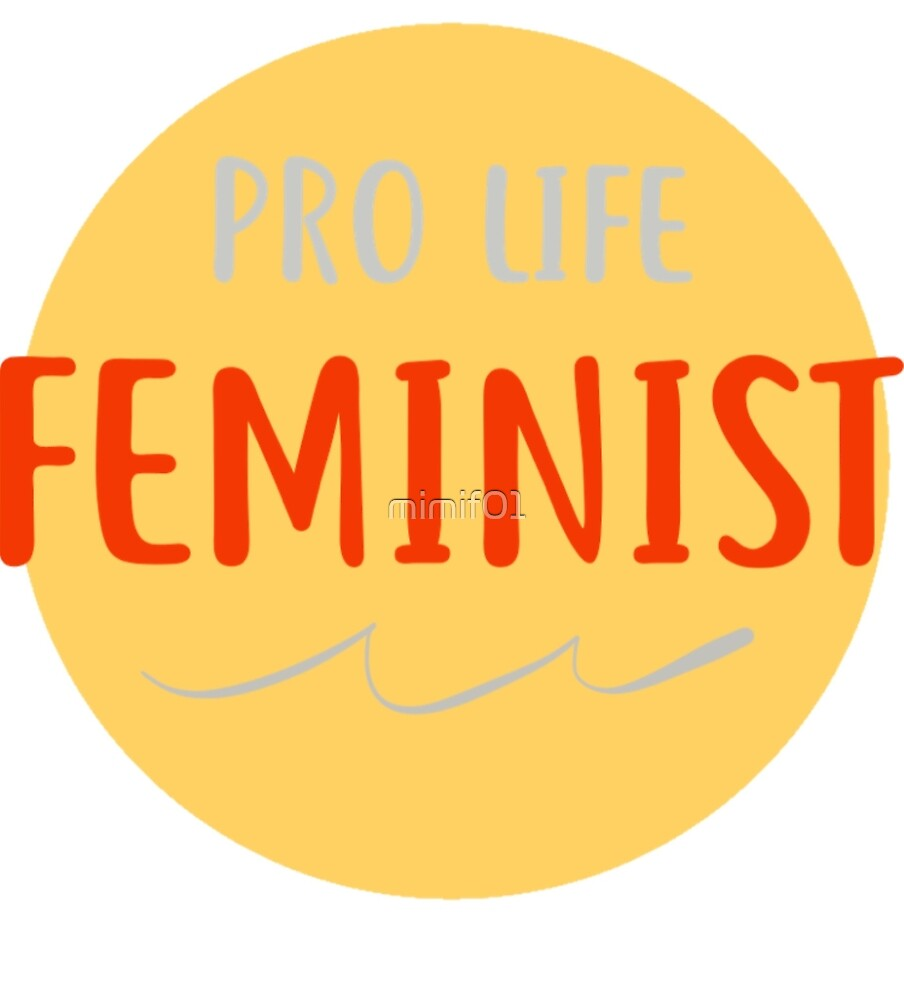 Pro Life Feminist by mimif01