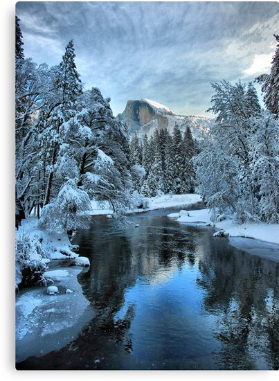 Yosemite # 6 (Half Dome) by SueAnne
