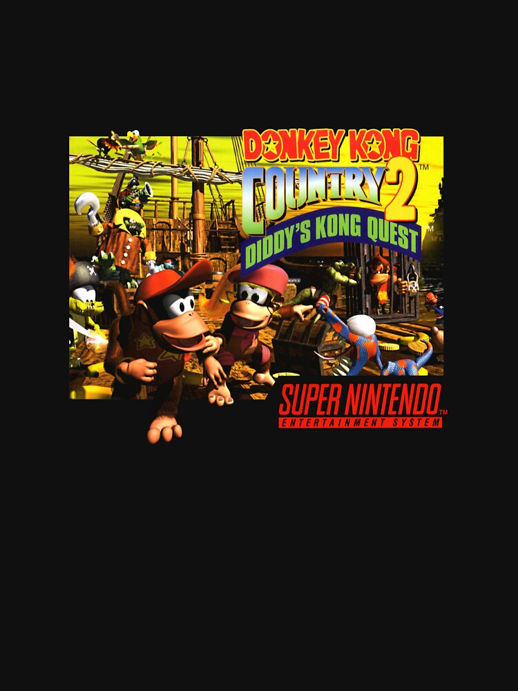 DKC 2 Cover Art by chaosangelzone