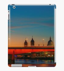 London At Twilight, England iPad Case/Skin