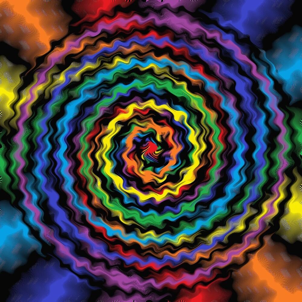 A Colorful Detonation by lornakay