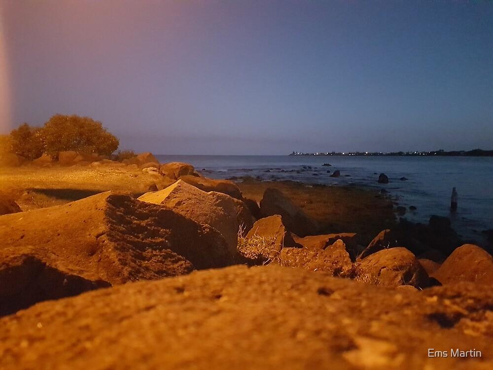 Bargara by night by Ems Martin