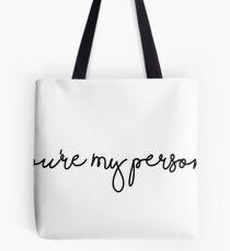 You're My Person Sticker Tote Bag