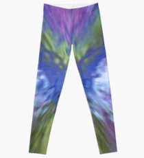 At The Speed of Blue - Graphic Design Leggings