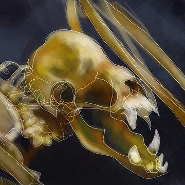 Bat Skeleton by niksebastian