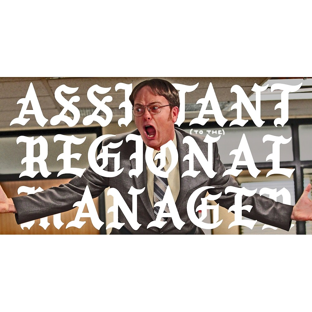 assistant to the regional manager by kevincharles