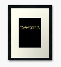 WASTER Framed Print