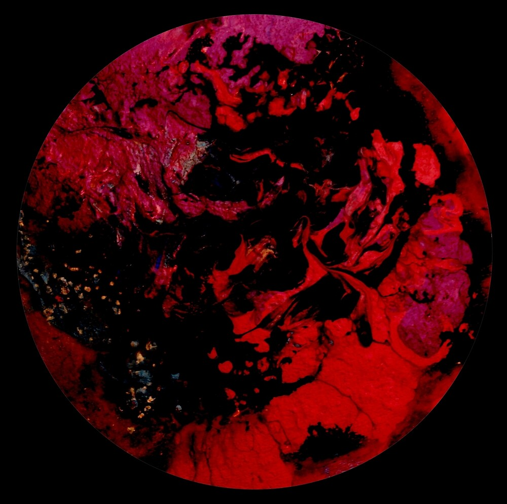 The dark red planet by TNEW