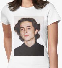 Timothée Tailliertes T-Shirt für Frauen