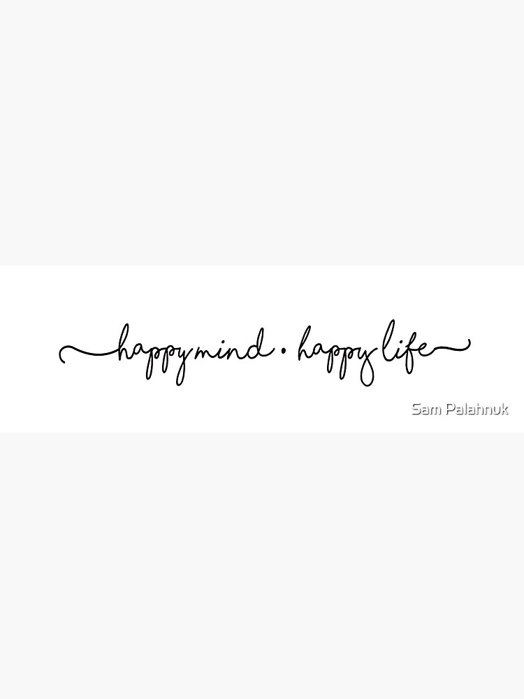 HAPPY MIND * HAPPY LIFE Sticker  by sampalahnukart